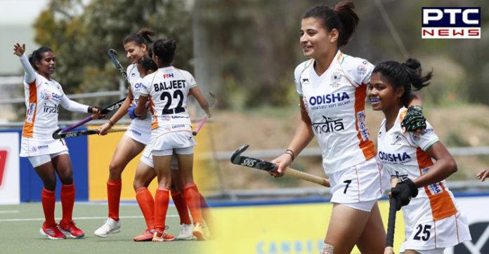 Impressive Indian junior women beat New Zealand 4-1 in 3-Nations Tournament