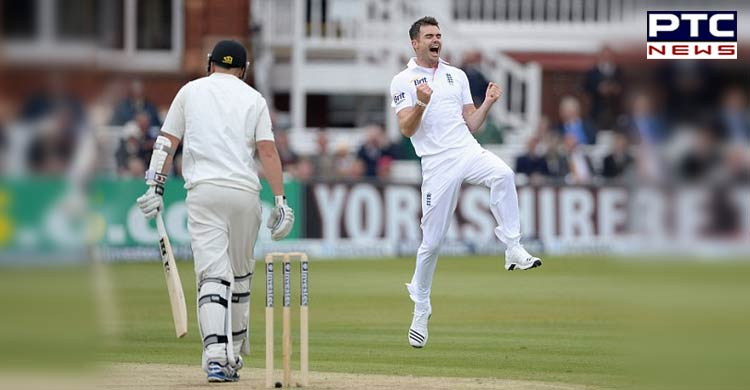 James Anderson becomes fifth bowler of the decade to take wicket on the first ball of a Test match