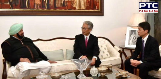 PPIS 2019: Japanese ambassador meets Captain Amarinder Singh, discusses investment opportunities in Punjab