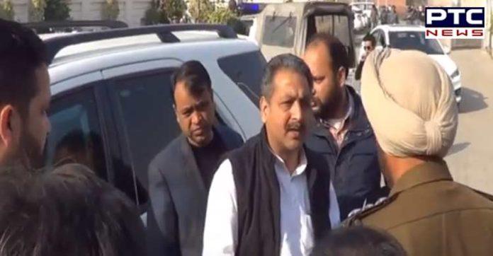 Minister Vijay Inder Singla Protest Teachers Abuse ,Video viral