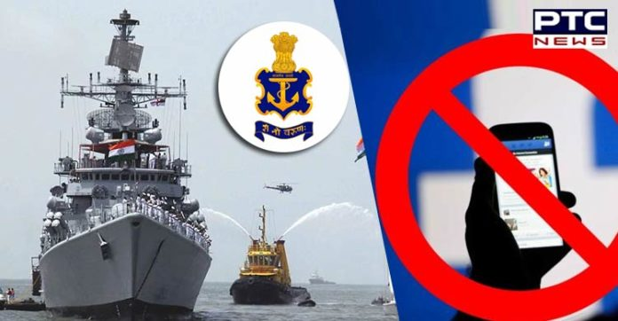 Indian Navy bans use of smartphones, Facebook , social media at naval bases, warships