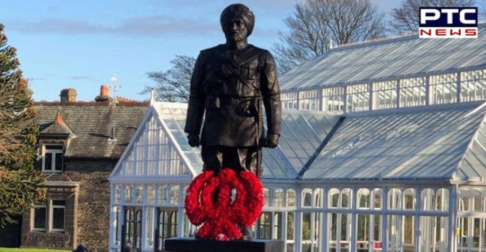UK: Sikh community unveils statue to honour Sikh soldiers martyred in World War