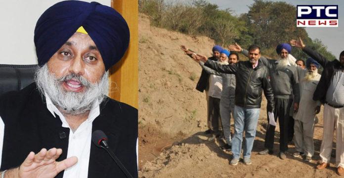 Sukhbir Singh Badal to lead dharna against illegal mining, Gunda tax at Dera Bassi tomorrow