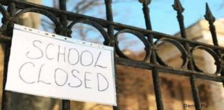 UP School Closed