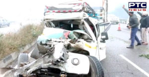 Khanna near National Highway Road Accident , Jeep Driver Death