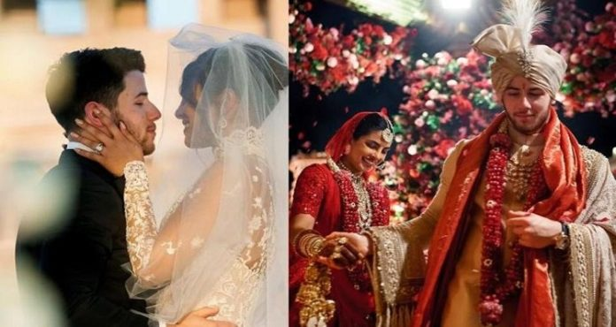 Happy Anniversary Priyanka Chopra and Nick Jonas
