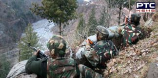 Pakistan firing in Uri sector , one Army officer And civilian killed