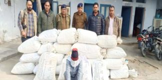 193 kg dodapost seized, one arrested