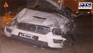 Bathinda: Lehra Mohabbat Bus stand Car Accident ,One Death