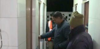 Drunk man entered in girls hostel toilet