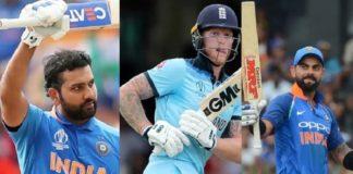 ICC Awards 2019 , Virat Kohli, Rohit Sharma, Ben Stokes , PTC News