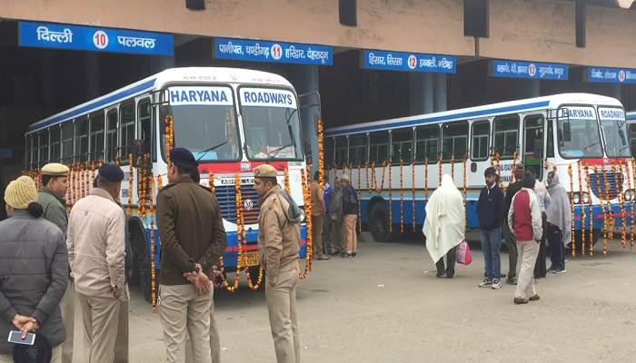 Private bus service started under kilometer scheme despite protest