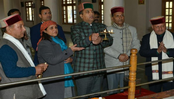 CM lays foundation stone of LWSS Saroor Khad to Churag in Tattapani