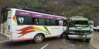 Jammu road accident: 17 people injured as two buses collide [PHOTOS]