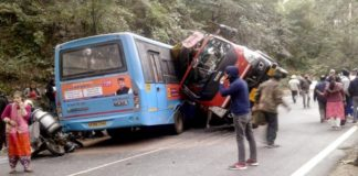 Mandi: One dead , 7 injured in a road mishap | Himachal Pradesh News