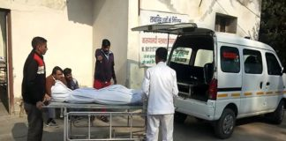 Two brothers died in road accident in palwal