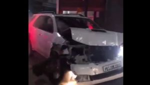 Patiala Uncontrollable Fortuner Car On Road Disadvantages