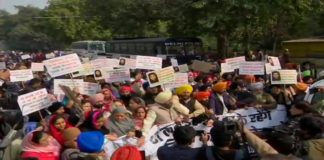 Protests erupt in India after attack on Nankana Sahib Gurdwara in Pakistan