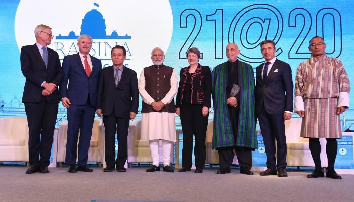 Iranian Foreign Minister Javad Zarif meets PM Modi and Ajit Doval