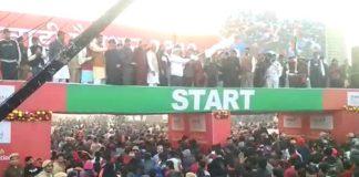 CM Manohar Lal Flags off RunForYouth Marathon in Rewari