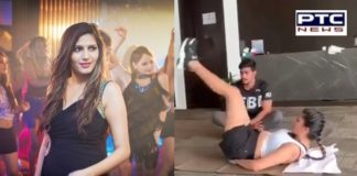 Sapna Choudhary Fitness Exercise working out In Jim