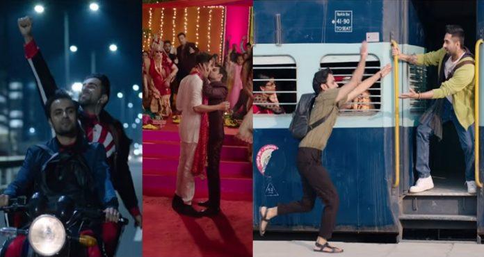 Shubh Mangal Zyada Saavdhan Trailer , Ayushmann Khurrana , Jitendra Kumar