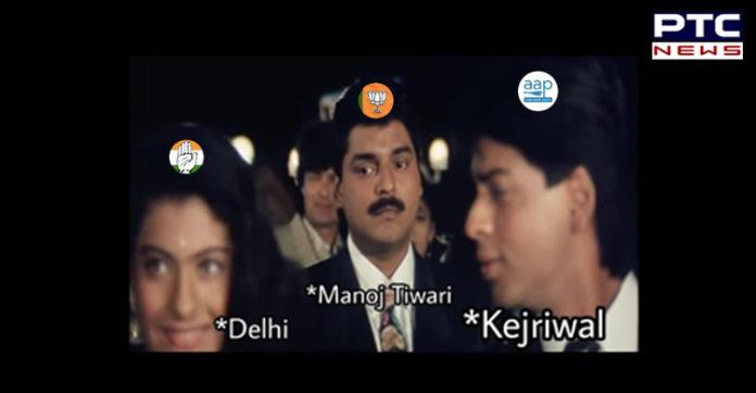 Delhi Assembly Elections 2020 , AAP vs Congress vs BJP , Twitter war
