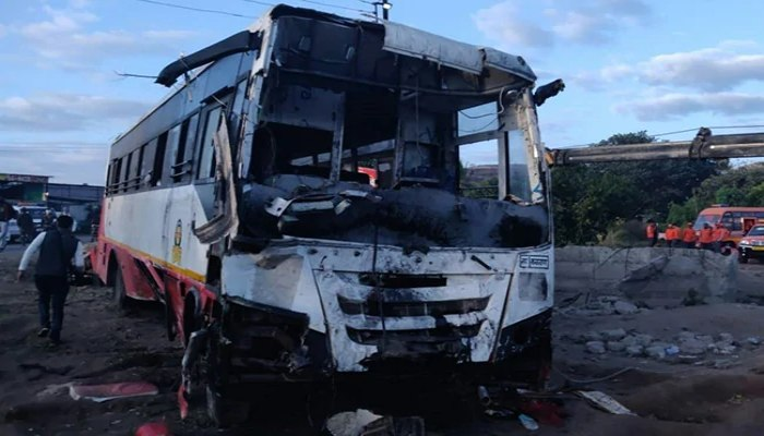 Road Accident in Maharashtra's Nashik district