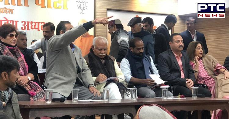Former Mayor Arun Sood elected Chandigarh BJP chief