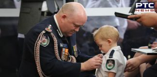 Australia Bushfire: Toddler receives Medal of Honor for his firefighter father who died in bushfire