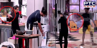 Vishal Aditya Singh Madhurima Tuli Fight , Bigg Boss 13 [VIDEO]
