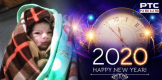 New Year Day 4 million babies born the world , First baby born in this country