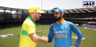 India vs Australia 1st ODI 2020 , Australia won the toss and elects to field
