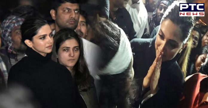 Deepika Padukone JNU Visit, After
