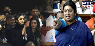 Deepika Padukone has right to stand with people who say 'Bharat tere tukde honge': Smriti Irani
