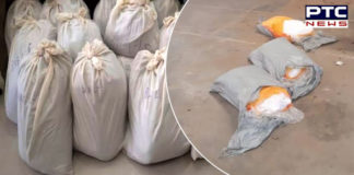 Amritsar Police recover 180 kg heroin from house; detain Afghan national