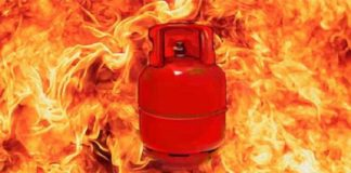 Cylinder Fire