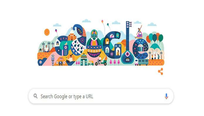 Google Doodle on Republic Day