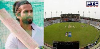Shahid Kapoor gets injured Chandigarh , Jersey shoot PCA stadium