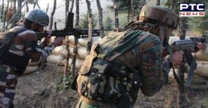 Jammu and Kashmir : Three terrorists Encounter with security forces in Shopian
