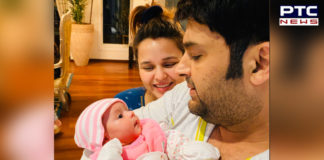 Kapil Sharma daughter Anayra Sharma pic ,Wife Ginni Chatrath [PHOTOS]
