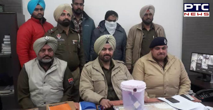 Khanna police Arrest man with illegal pistol with Cartus