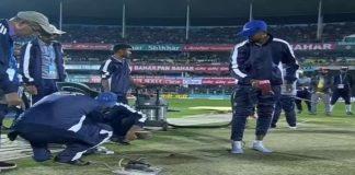 T20 Match cancel due to rain