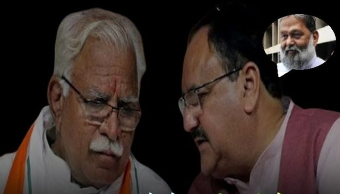 CM Manohar Lal meets BJP Executive President JP Nadda, discuss various issues