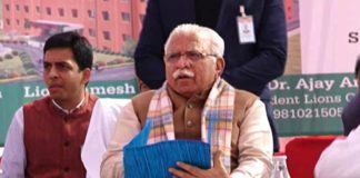Punjab is unnecessarily delaying SYL says Haryana CM Manohar Lal