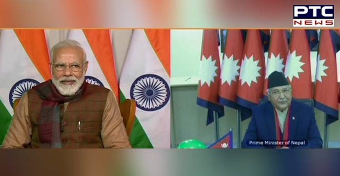 PM Narendra Modi , Nepal PM KP Sharma Oli , ICP at Jogbani-Biratnagar