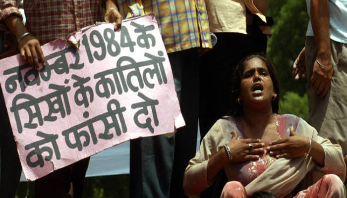 Government accepts report related to investigation of 1984 riots