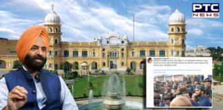 Manjinder Singh Sirsa condemns attack on Gurudwara Nankana Sahib