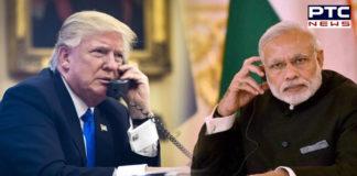 PM Narendra Modi speaks to Donald Trump on phone to wish New Year