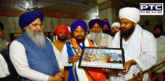 Harpreet Singh Giani and Bhai Gobind Singh Longowal At Gurdwara Sahib In Gwalior Qila